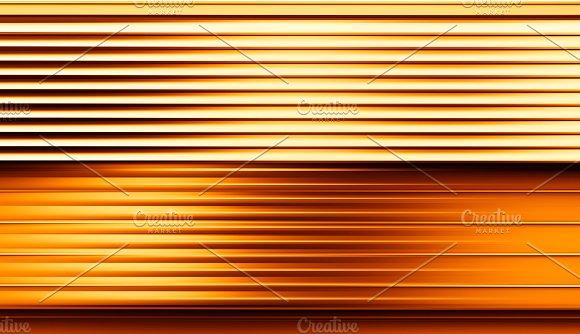 Horizontal Motion Blur Orange Panel Background