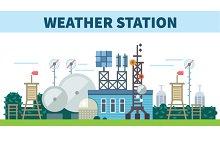 Weather station. Seasons
