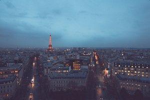 Vertical Eiffel Tower
