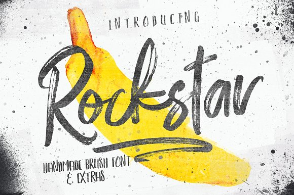Rockstar And Photoshop Brush Set