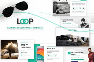 Loop | Keynote template