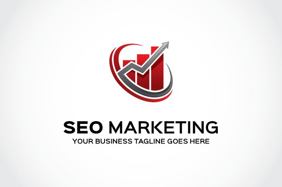 Seo Marketing Logo Template ~ Logo Templates ~ Creative Market