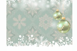 Christmas Background Vintage