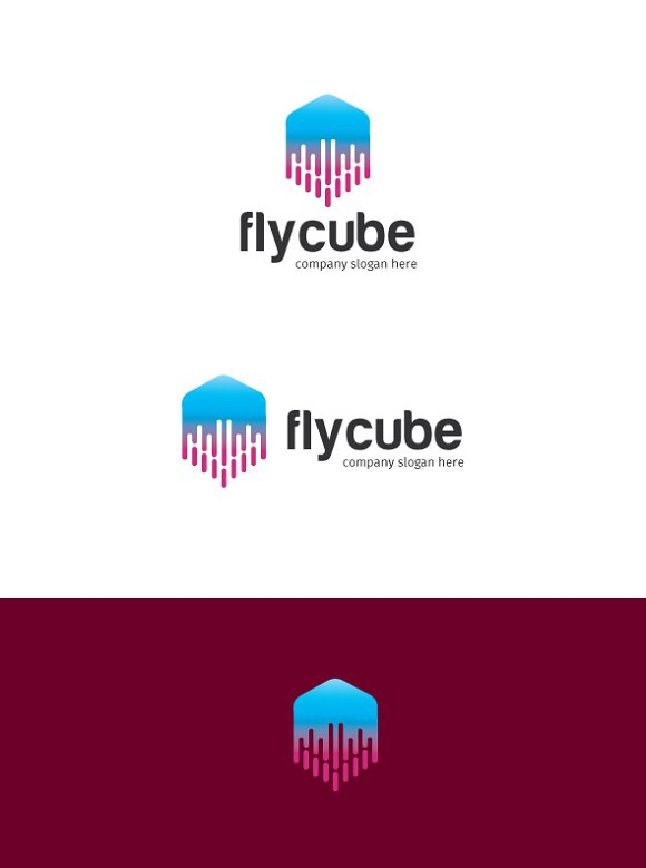 cube in Logo Templates