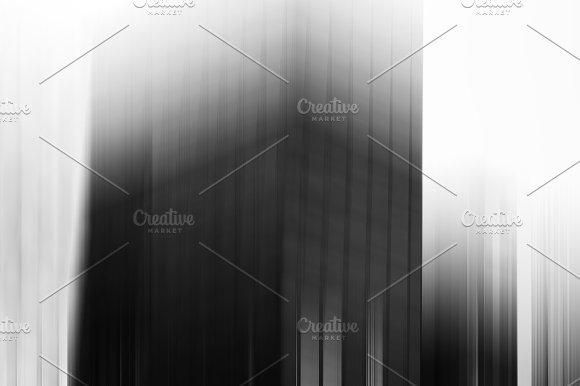 Vertical Black And Whites Skyscraper Blur Background