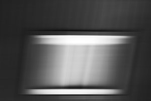 Horizontal black and white motion window background