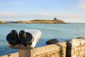 Binoculars by the Sea