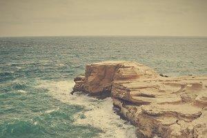 cliff at Cabo de Gata, Spain