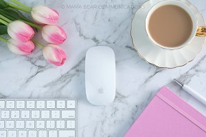 Styled Stock Photos | Feminine Desk