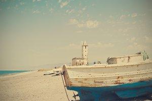 Ancient church in Cabo de Gata