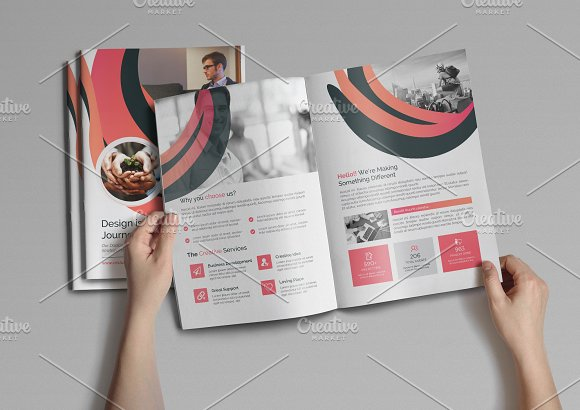 Abstract Clean Brochure
