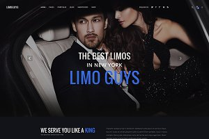 Limoguys - PSD Template for Car/Limo