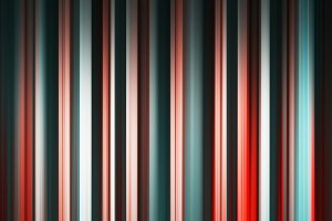 Vertical red and green motion blur background