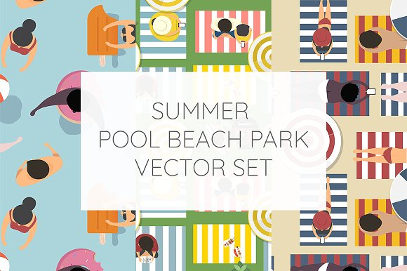Summer Vibe Vector Set