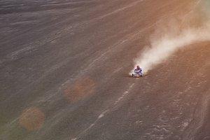 Speedy volcano ride in Nicaragua