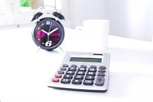 Alarm clock in the office