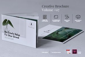 Creative Brochure Template Vol. 07