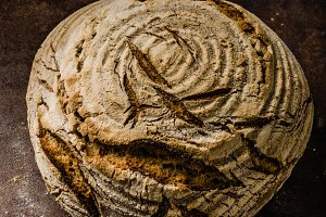 Homemade bread sourdough