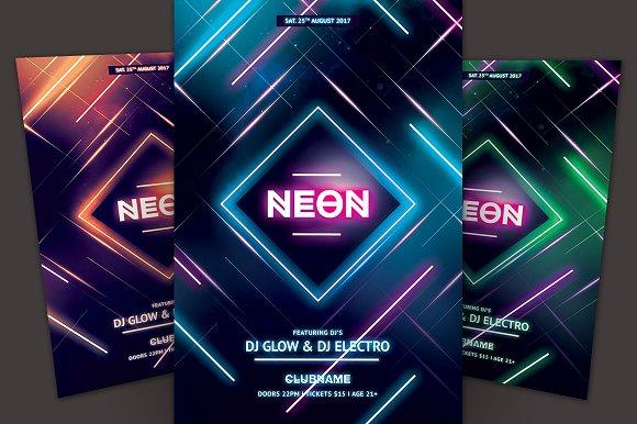 Neon Flyer