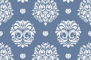Seamless pattern decorative vintage