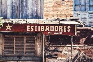 Estibadores / Dockworker Sign