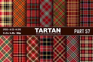 Seamless  Tartan Pattern Part - 57