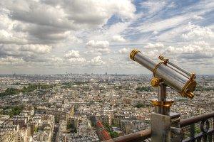 The city at my feet
