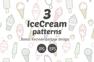 Icecream patterns