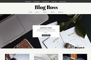 Blog Boss – WordPress Blog Theme