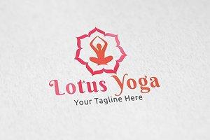 Lotus Yoga - Logo Tempalte