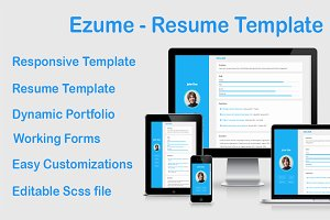 Ezume Resume Template