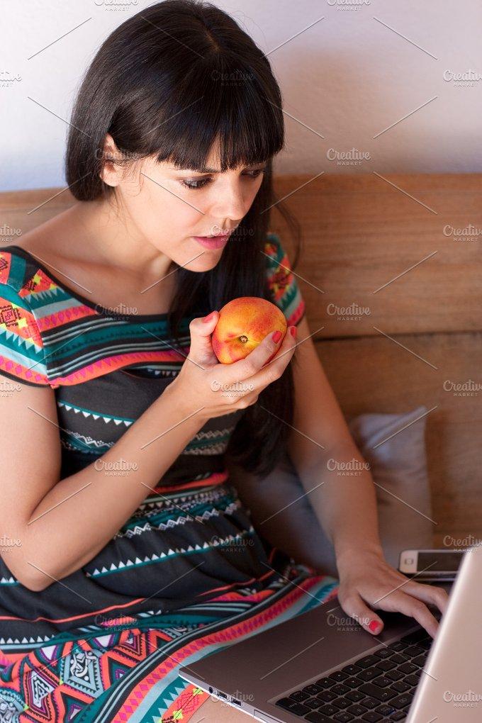 Snack while working.jpg - Food & Drink