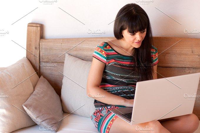Using laptop.jpg - Technology