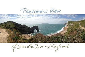 Durdle Door – panoramic view