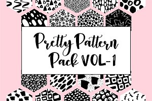 Pretty Pattern Pack Vol 1 | 25% off