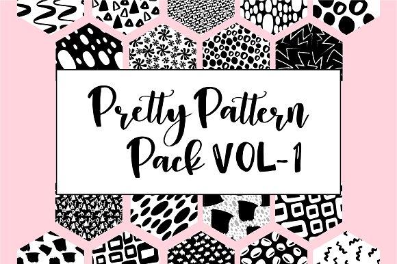 Pretty Pattern Pack Vol 1 25% Off