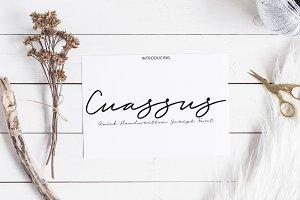 Cuassus | Script font