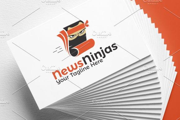 Editing Ninja News Logo