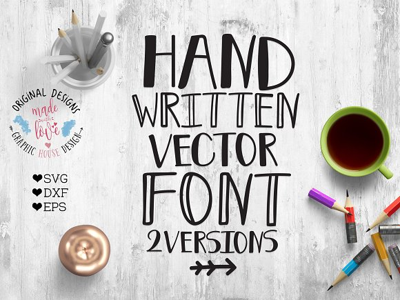 Vector Font For Crafters