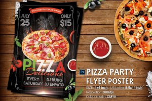 Pizza Flyer And Poster