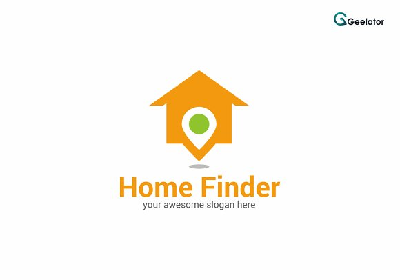 Home Finder Logo Template