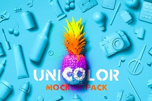 Unicolor Mockup Pack