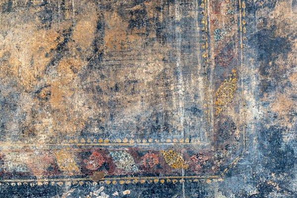 Fresco in Pompeii, background
