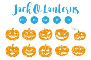 Jack O Lantern SVG Bundle