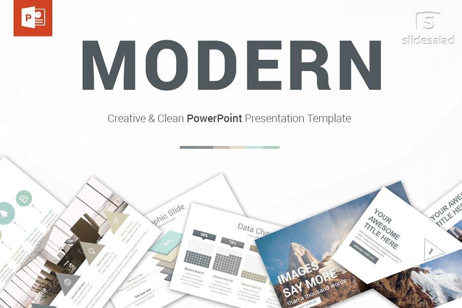 Modern PowerPoint Template ~ PowerPoint Templates ~ Creative