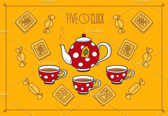 Five O'clock Tea Time