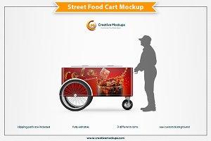 Street Food Cart Mockup