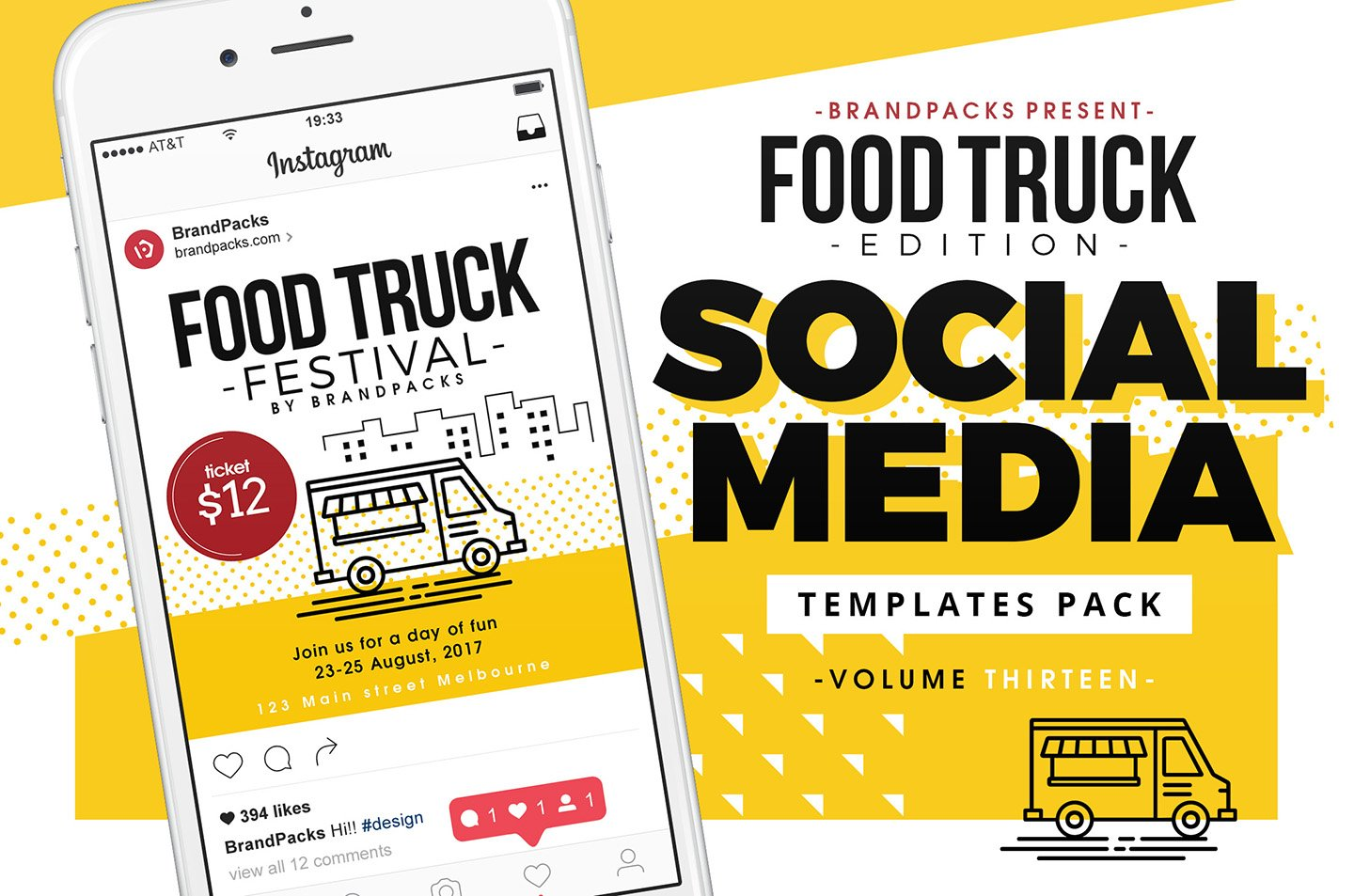 food truck photos graphics fonts themes templates creative market