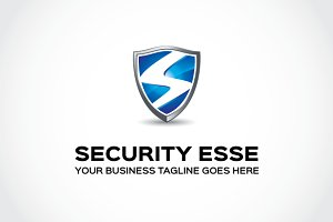 Security esse Logo Template