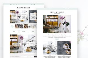 Megan - Feminine Blog & Shop Theme